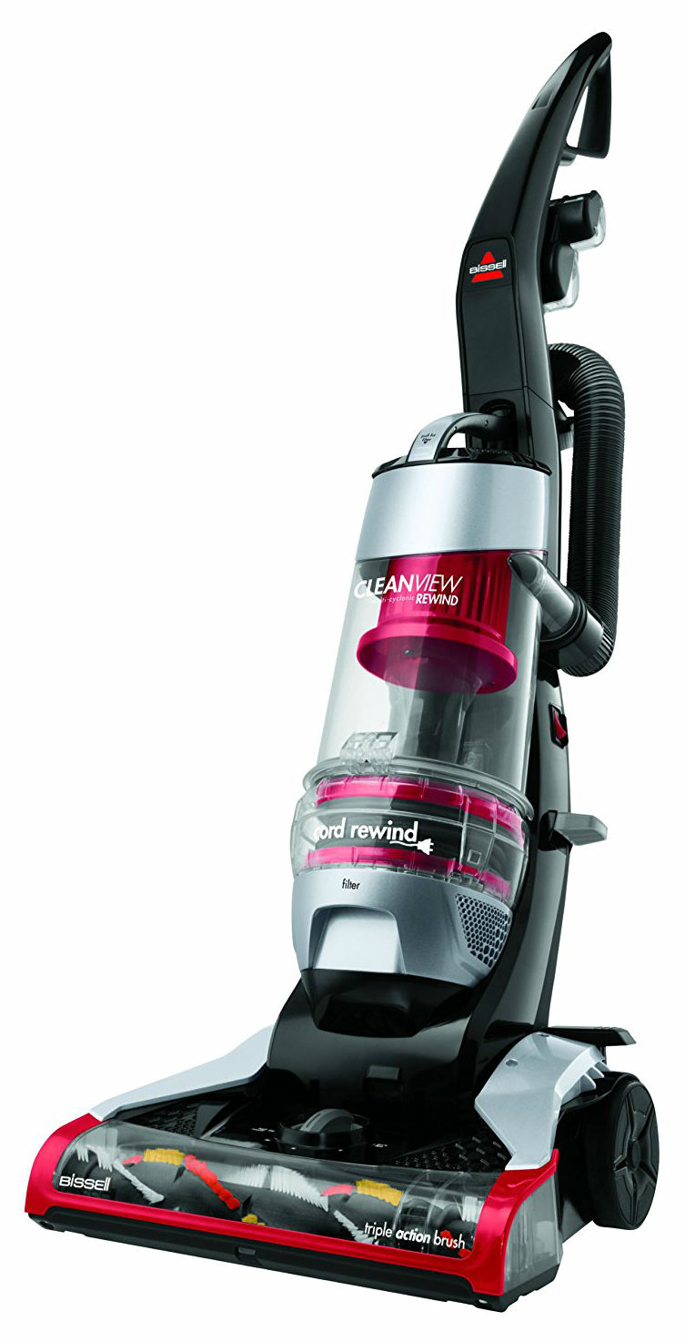 BISSELL CleanView Plus Rewind Bagless Upright Vacuum Revieww