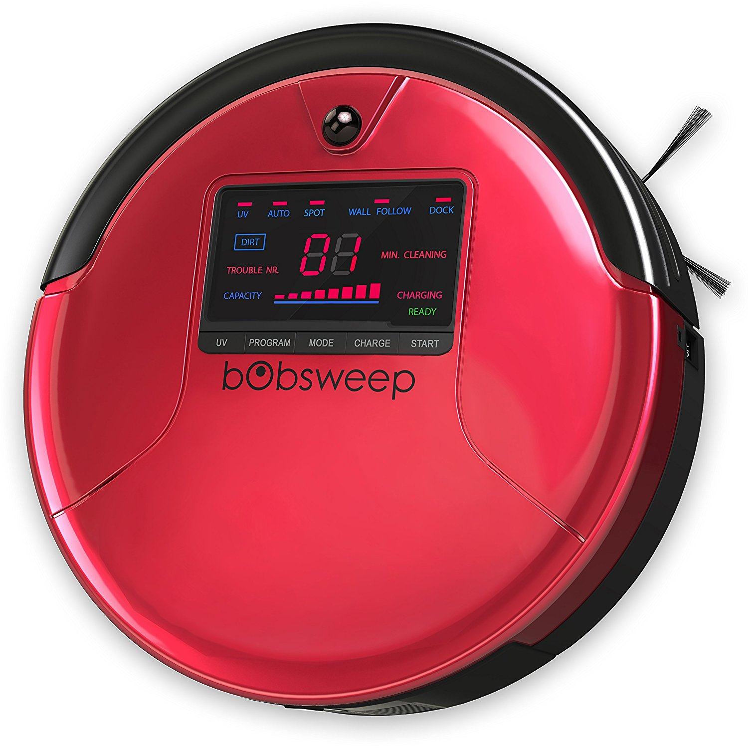bObsweep PetHair Robotic Vacuum Cleaner and Mop Review