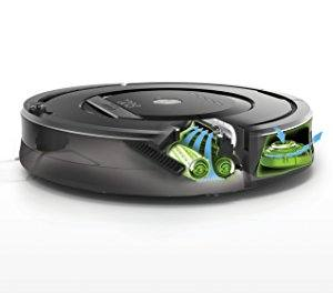 irobot roomba vacuum cleaner cleaning system