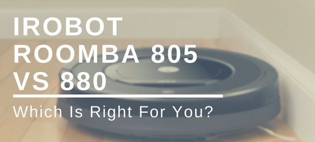iRobot Roomba 805 vs 880: Which Is Right For You?