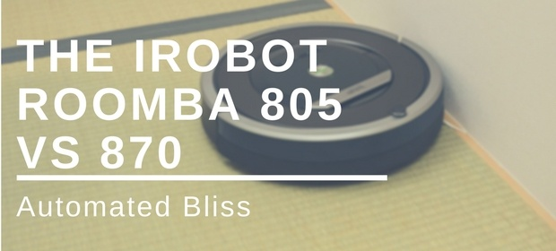 irobot roomba 805 vs 870 review and comparison