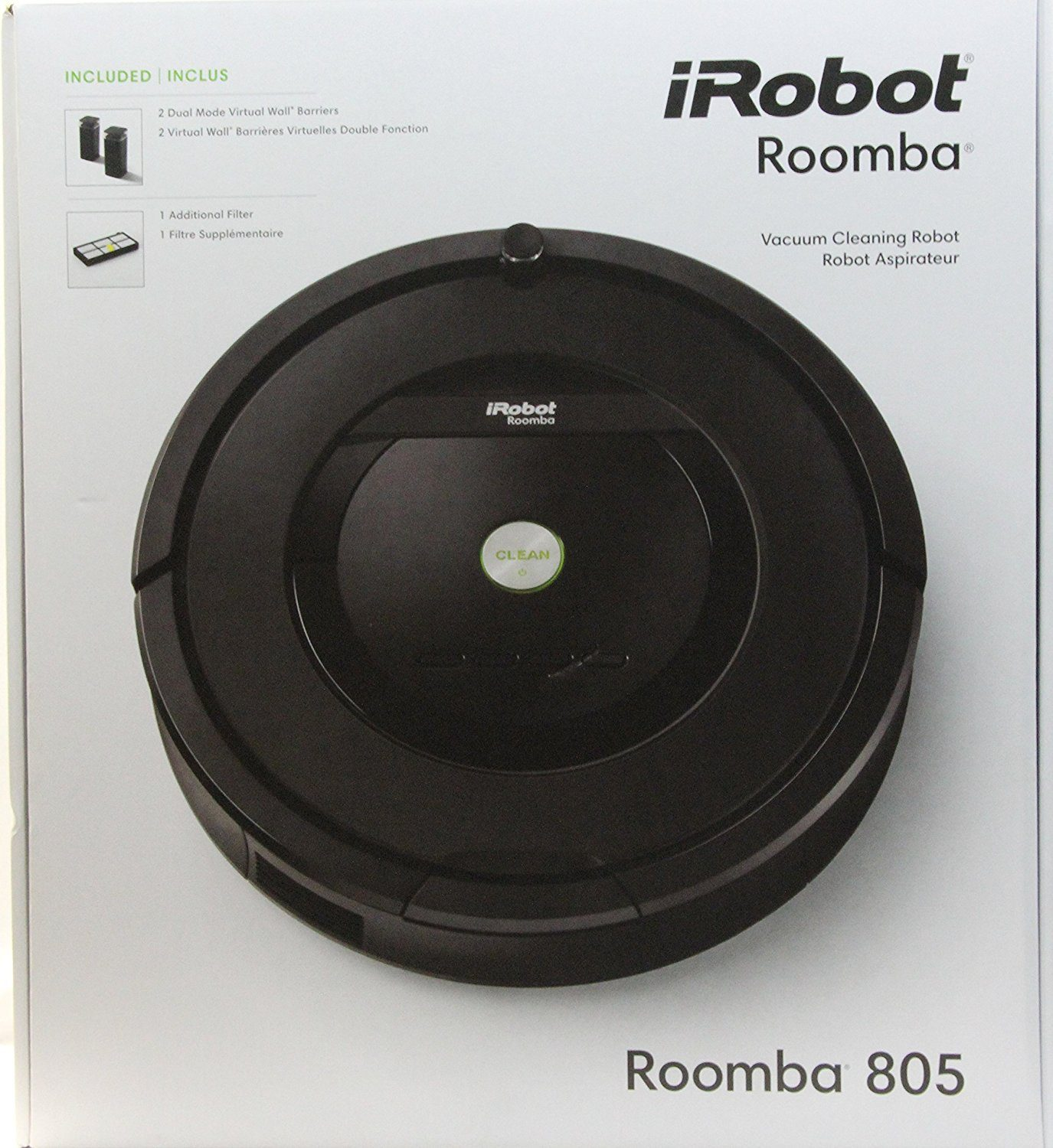 irobot roomba 805 vacuum cleaner review
