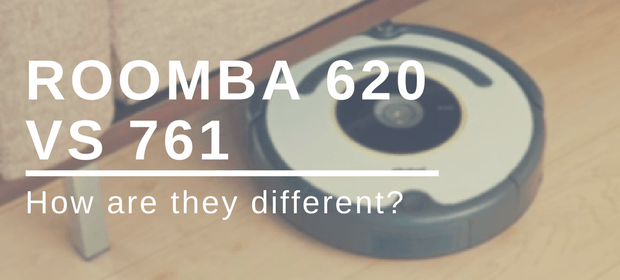 the difference between roomba 620 versus 761