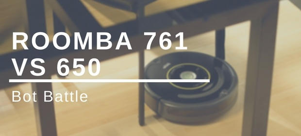 iRobot Roomba 761 vs 650 Review and Comparison