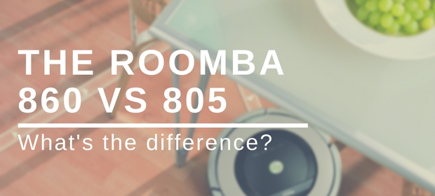 Roomba 860 VS 805 Review and Comparison