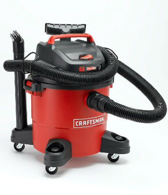 Craftsman 12004 6-Gallon 3 Peak HP Wet Dry Vac REVIEW