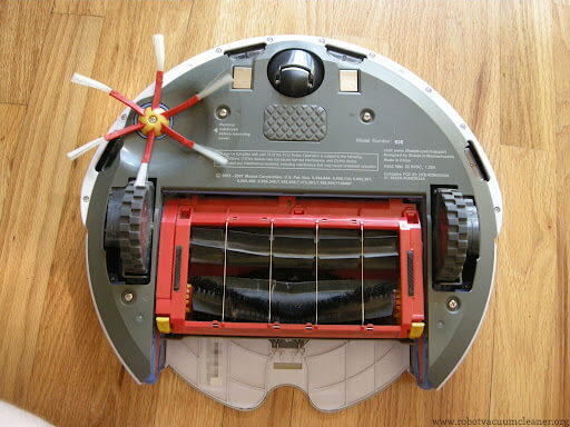 Clean your irobot what you can on the outside