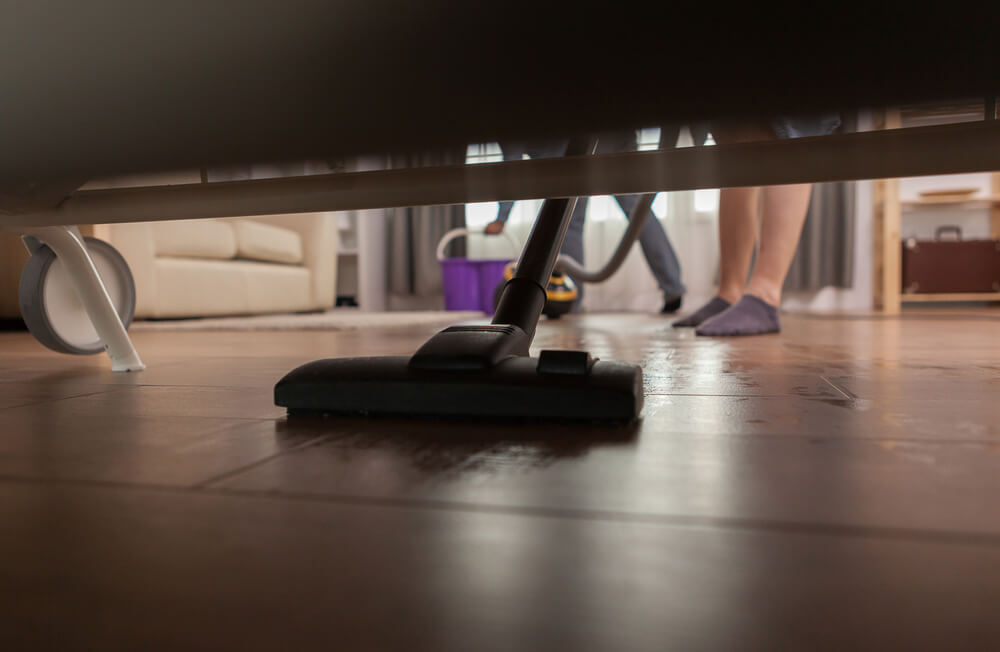 How often should you vacuum under the bed