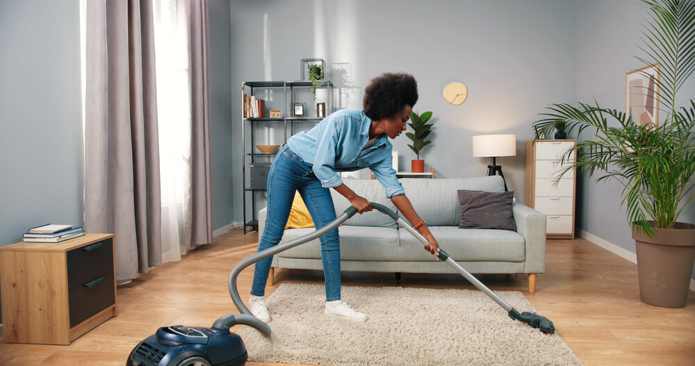 How often to vacuum a wool rug