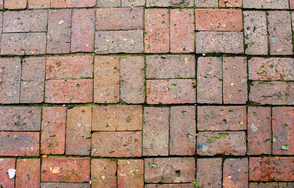 How to clean unsealed brick floors