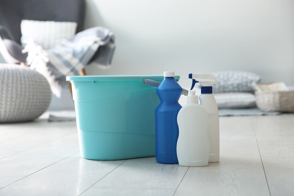 Detergent and Water