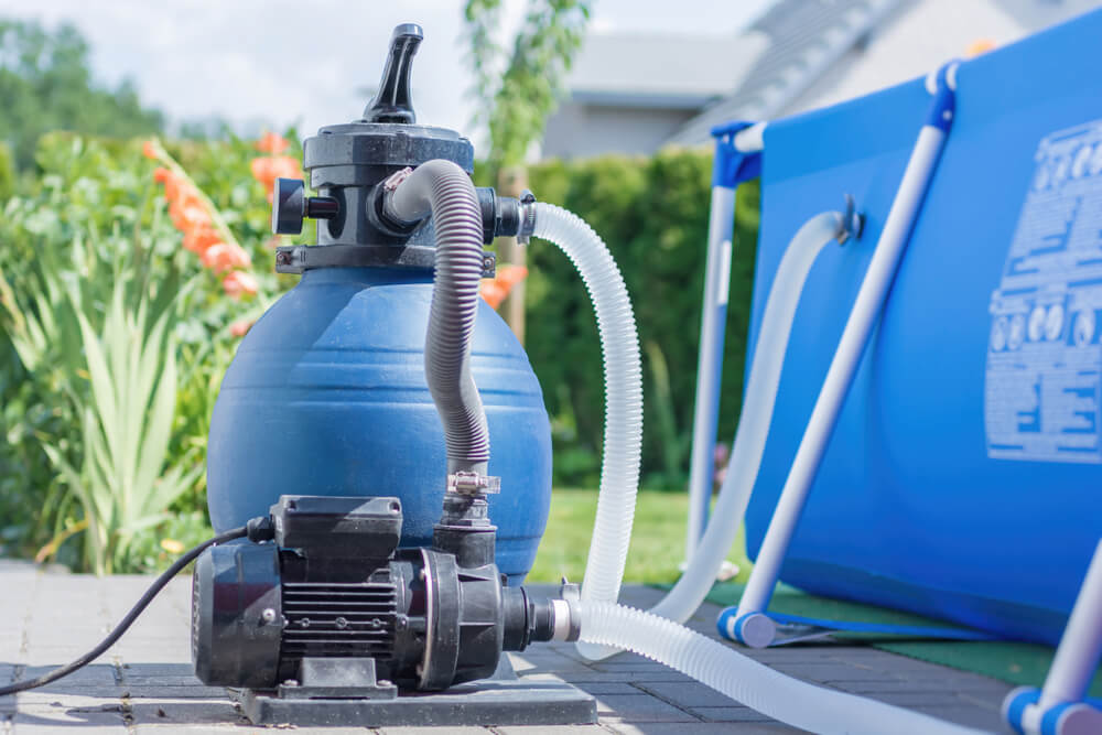 Pool Sand filter blowing out sands