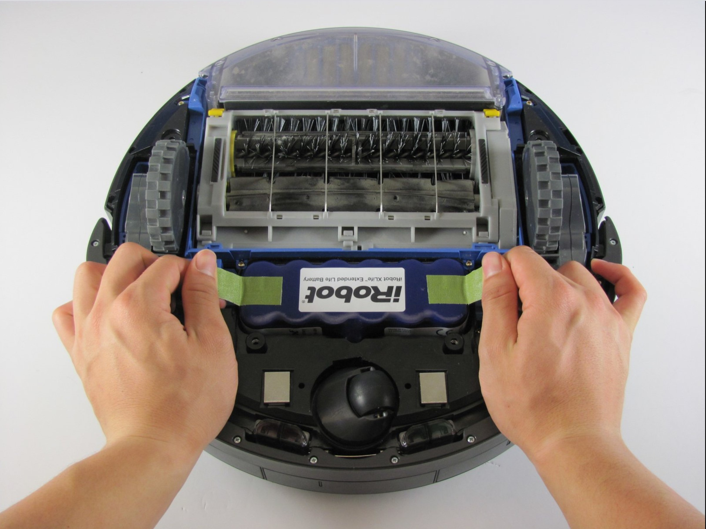 roomba-replacing the battery